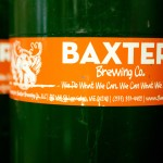 Baxter Brewing Co. keg