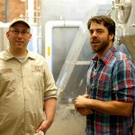 Brewmaster Ben Low and Matt Delamater
