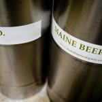 Maine Beer Company kegs