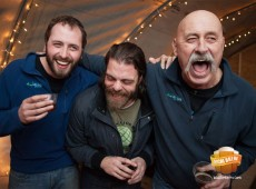 Abraham Lorain, Matt Delamater, Paul Lorain, Growler Night, Funky Bow Brewery
