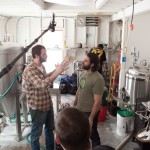 Shooting ep3 at Funky Bow Brewery