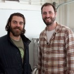 Funky Bow Brewery co-founder Abraham Lorain and host Matt Delamater