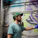 Noah Bissell brewing