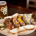 Tasty, handmade sausages and Bissell Brothers beer at The Thirsty Pig